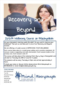 Recovery and Beyond Poster